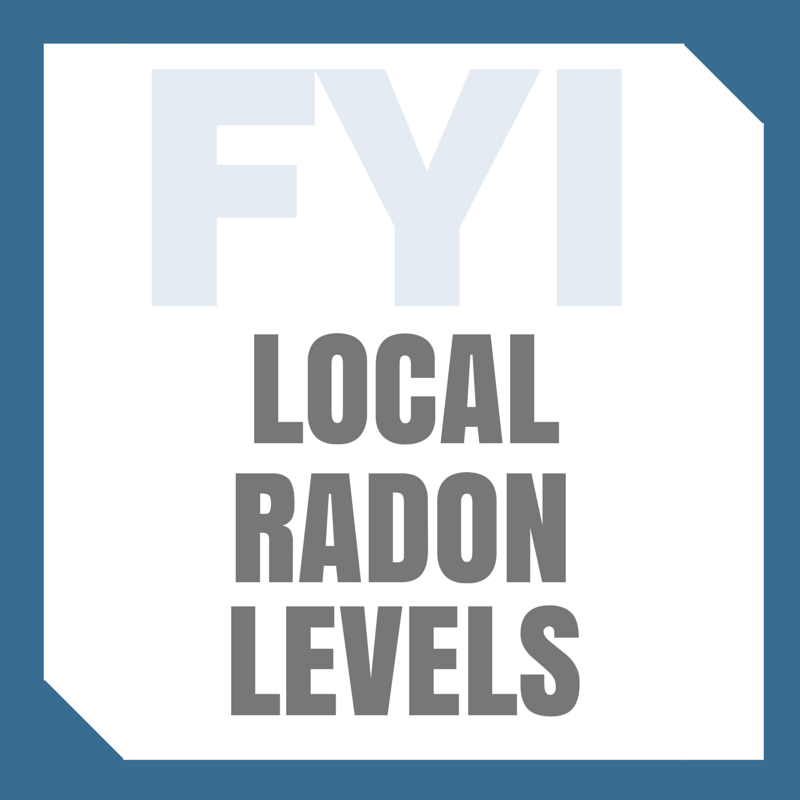 Local Radon Levels