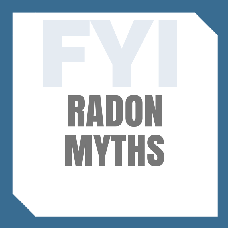 Radon Myths